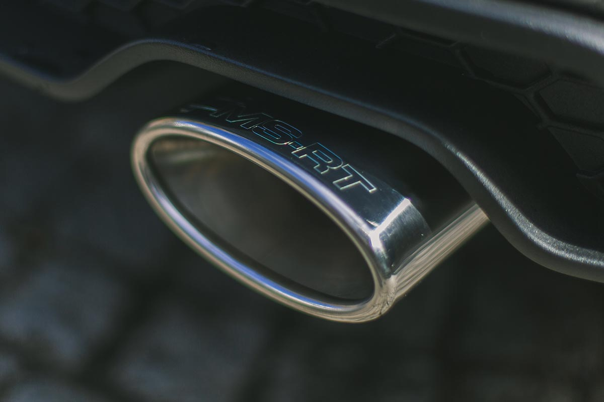 Specially designed ms-rt twin sports exhaust system