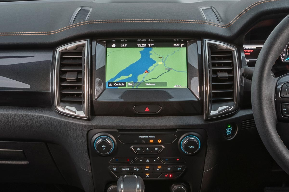 """SYNC 3 with 8"""" Touchscreen and Navigation"""